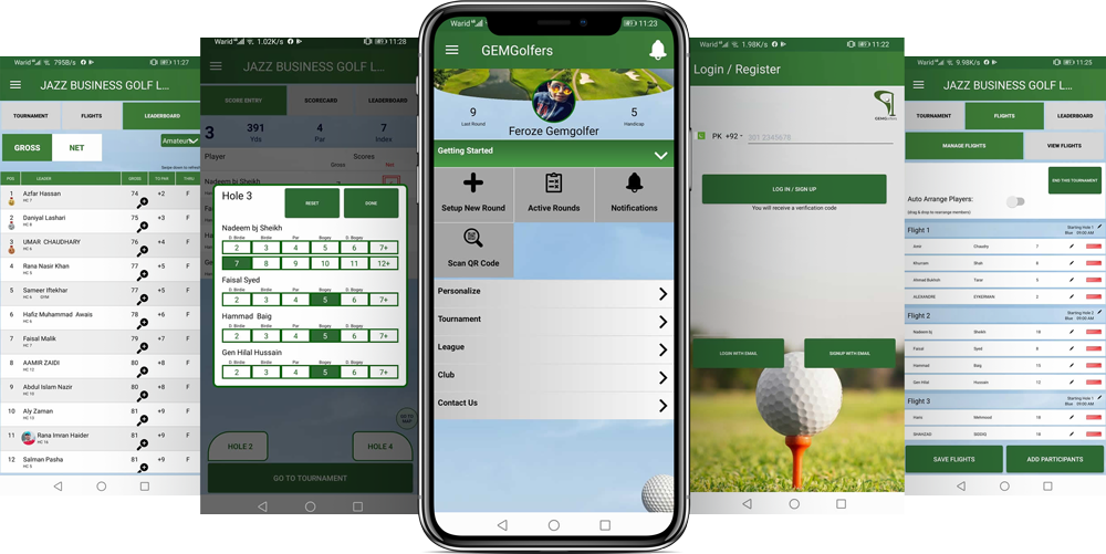 Golf League App